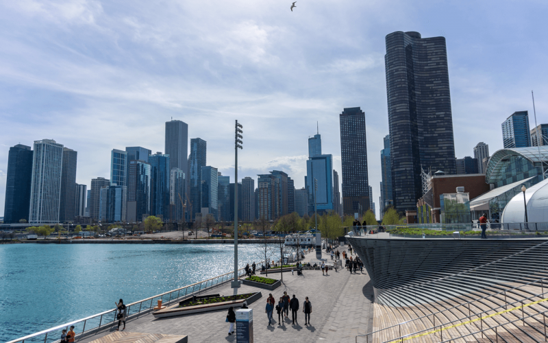 Super cheap flights from Riga to Chicago start from €304