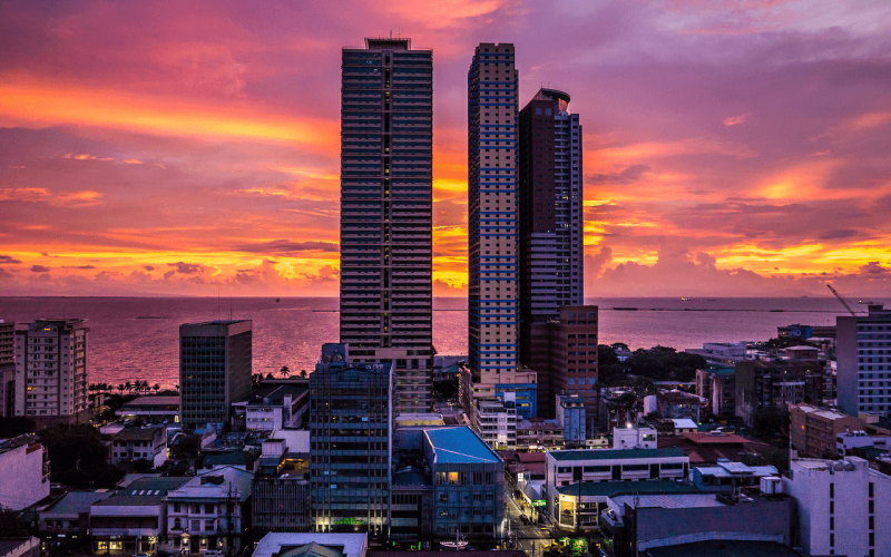 Deal flights to Manila from Brussels starting  from 490 EUR for return ticket