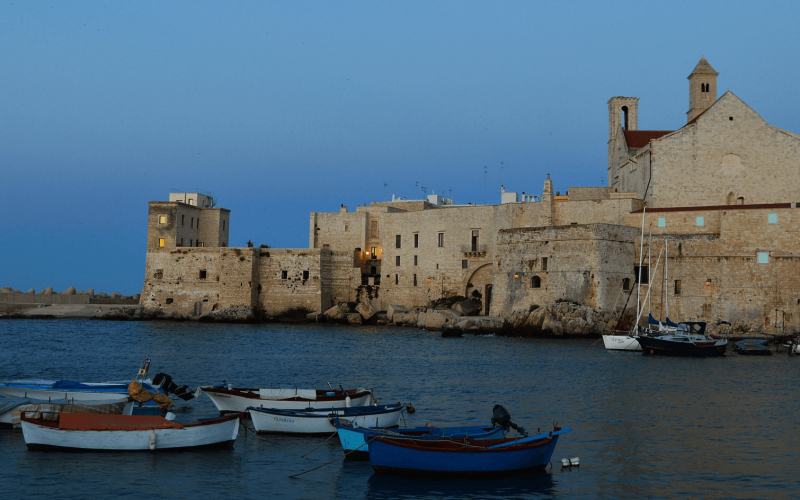 Cheap direct flights from Riga to Bari from €70