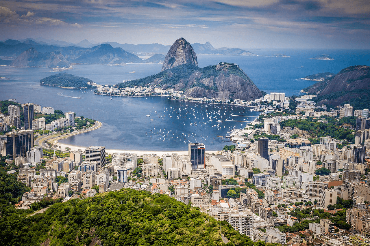 Good price for flights to Brazil: Helsinki to Rio de Janeiro from 529 Eur