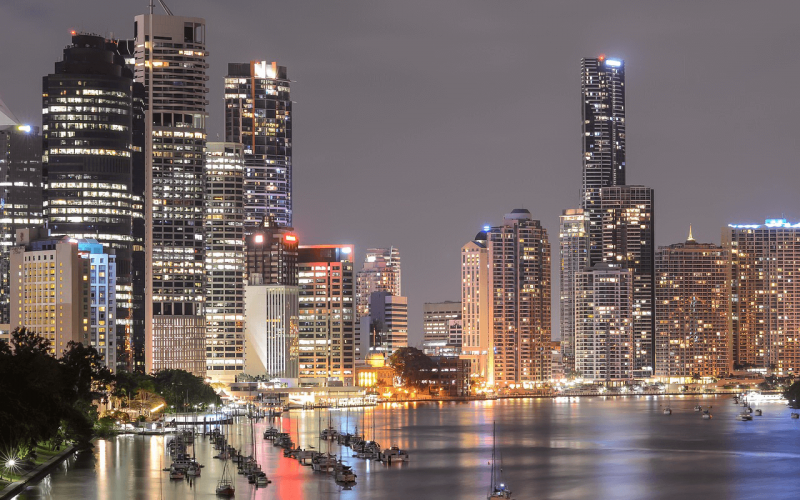 Low price for flights from Stockholm to Brisbane starting from 647 Eur for return ticket