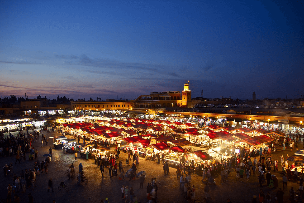 Great deals for flights from Riga to Marrakesh start from €111