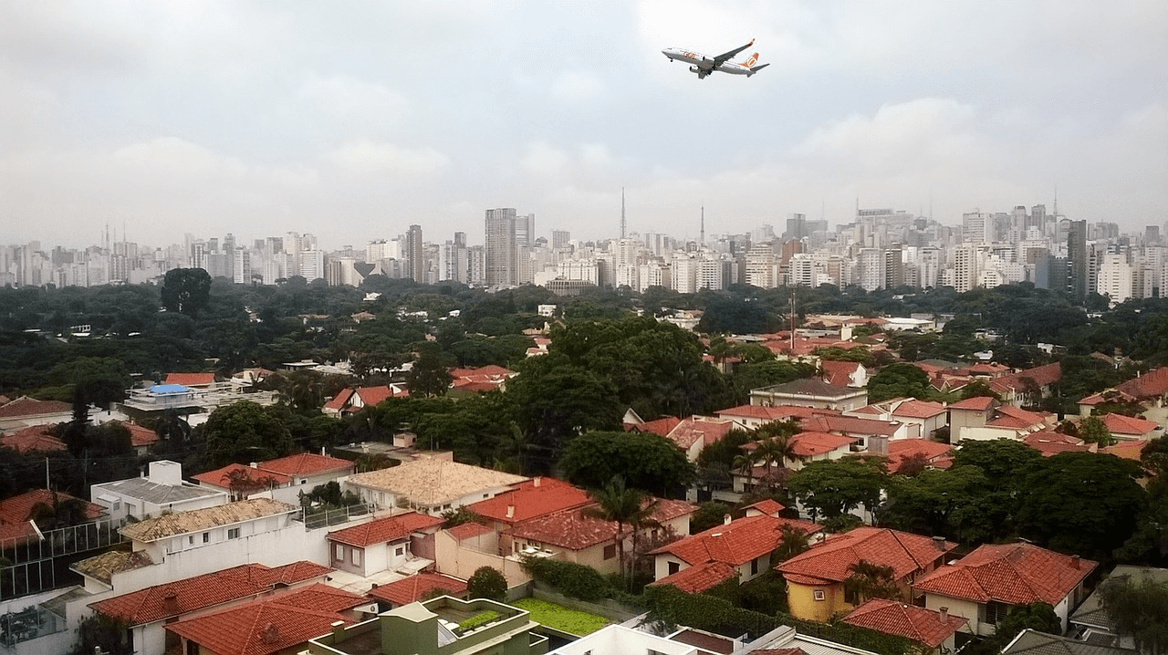 Great price for flights from Prague to Sao Paulo starting from 539 Eur
