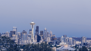 Bargain price for direct flights from Dublin to Seattle start from €338
